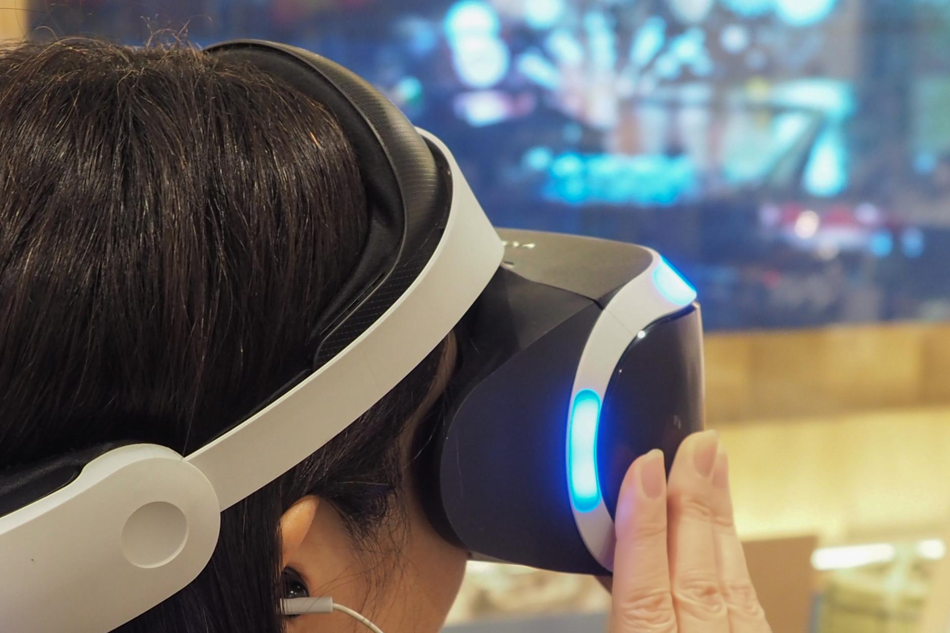 VRでリアル体験